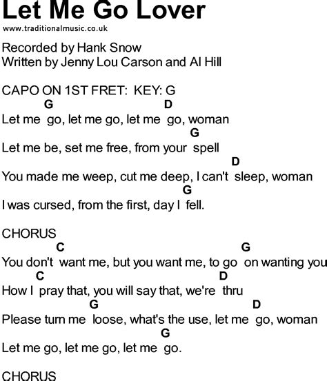 go song let it go lyrics with guitar chords