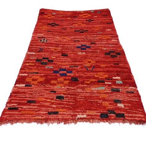 Rug 4 X 7 by 4 X 7 Vintage Moroccan Rug 74560