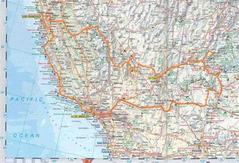 usa southwest map western us road map highways pictures to pin on