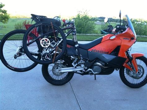 Bicycle Rack For Motorcycle by The Jake Rack Take Your Bike On Your Bikeit S All About