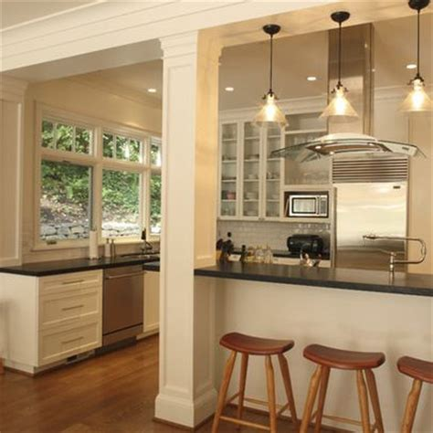 Kitchen Peninsula With Column Kitchen Peninsula With Column Kitchen The