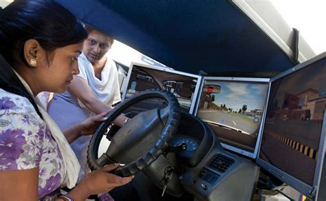 maruti driving simulator enrolment for maruti suzuki s driving initiatives