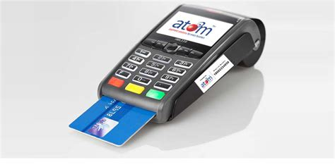 debit card machine best card swiping pos machine in india atomtech