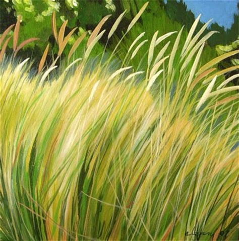 Daily Painters Abstract Gallery Grass 2 Acrylic