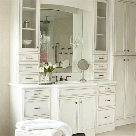 single sink in master bath custom vanity with 2 towers and drawers vanity solutions