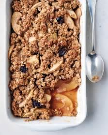 Apple oat crisp recipe amp video martha stewart