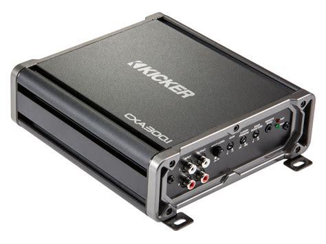 Power Kicker Ex450 4 Aplifier 4 Channel Class Ab New kicker cxa3001 cx series mono channel car audio lifier package with 4 ring