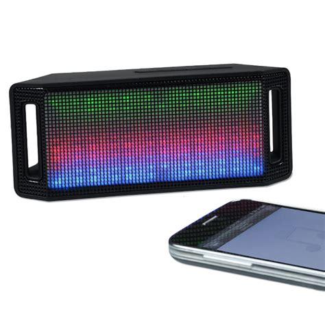speakers lumi light up bluetooth speaker item no