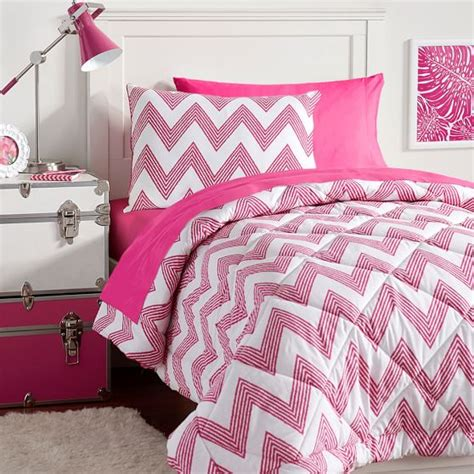 zig zag bedding zig zag stripe value comforter set pbteen