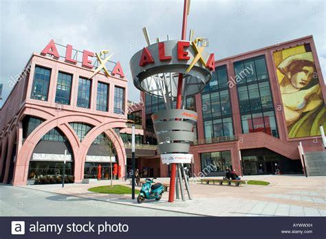centre alexanderplatz exterior of new shopping mall in alexanderplatz in