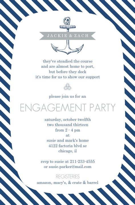 nautical stationery template nautical invitation template afoodaffair me