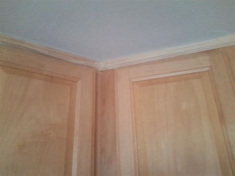 trim for kitchen cabinets kitchen cabinet trim how to match doityourself com