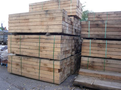 Railway Sleepers New by New Oak Railway Sleepers