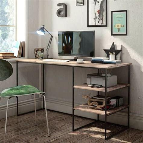 escritorio hierro y madera escritorio estilo industrial hierro y madera ideas