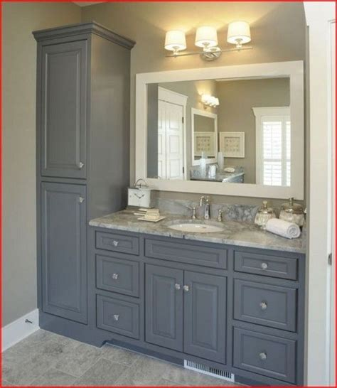 Bathroom Vanity With Linen Cabinet Bathroom Vanities And Linen Cabinets