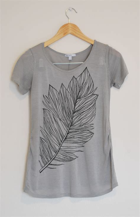 Painting T Shirts With Sharpies by Feather Tutorial Merrick S Merrick S