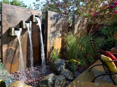 Diy Water Feature Ideas Projects Diy Backyard Feature Wall Ideas