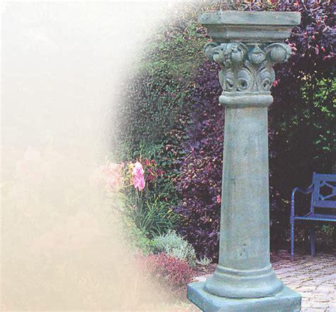 Sockel Kaufen by Stilvoller Sockel Natursteins 228 Ule Garten Sandstein Stein Steinguss Kaufen