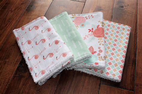 the stella bundle baby girl burp cloths burp cloth set