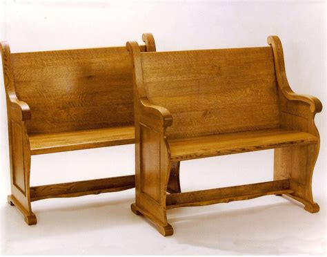 oak pew bench custom oak pew bench saratoga county charlton ny
