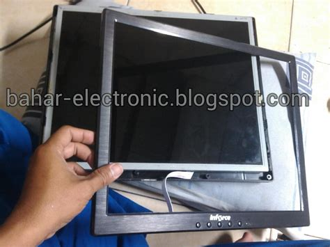 Monitor Inforce Bahar Electronic Monitor Lcd Inforce Gambar Blank Putih