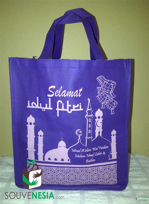 Goodie Bag Lebaran Ukuran Folio goody bag parcel lebaran