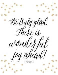 1 peter 1 6 print scripture bible verse glad wonderful joy grace