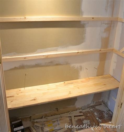 What To Do With Old Kitchen Cabinets by Crown Molding And Pantry Shelves Beneath My Heart