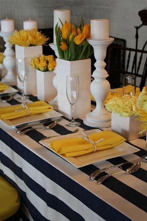 gelbe und blaue schlafzimmer dekorieren ideen tischdeko mit tulpen festliche tischdeko ideen mit