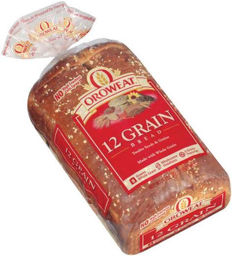 whole grains 12 grain bread oroweat 12 grain bread 24 oz loaf hy vee aisles