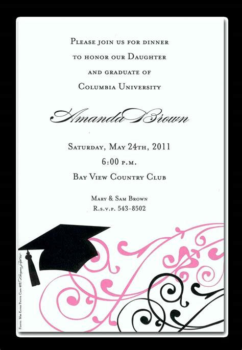 graduation invitation templates blank graduation invitations template update234