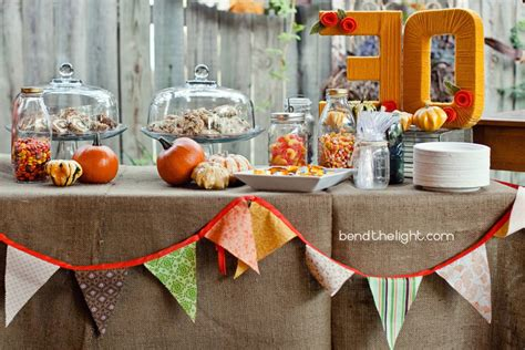 fall themed table decorations fall 21 and festive decorating ideas