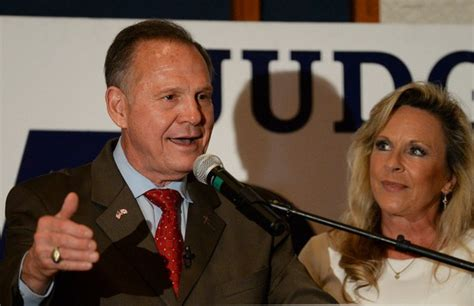 roy moore current news roy moore s wife kayla allegations weren t common
