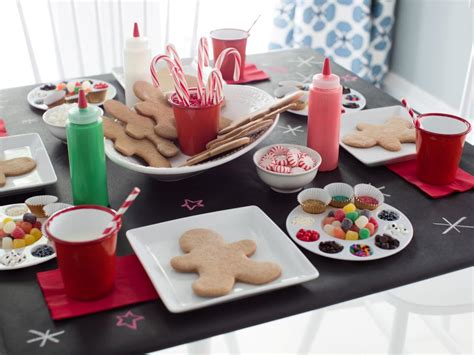 cookie decorating ideas pictures host a gingerbread cookie decorating hgtv