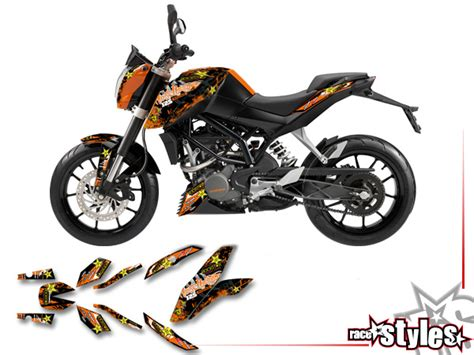 Ktm Smc Gabel Aufkleber by Ktm 125 1290 187 125 200 Duke 187 01 Basic Kit