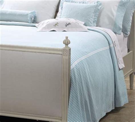 seersucker bedspreads seersucker striped tailored bedspread bedding portland maine by cuddledown