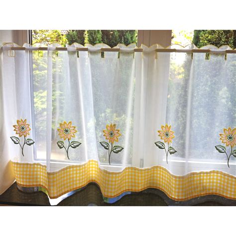 voile cafe net curtains caf 233 net curtains kitchen nets ready made voile curtain