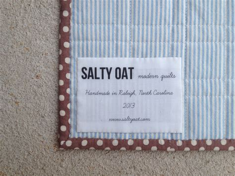 Handmade Quilt Labels - how to design your own quilt labels spoonflower