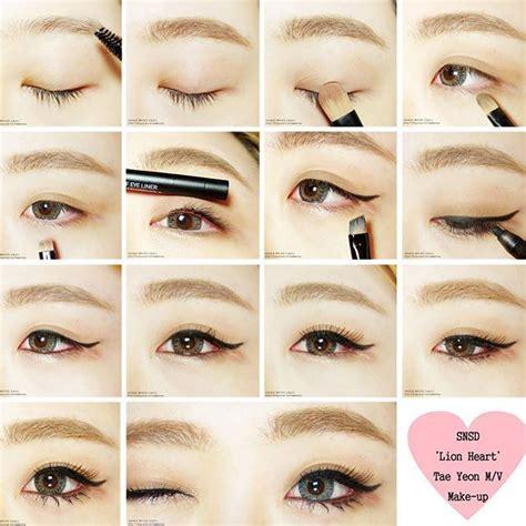 tutorial make up korea snsd snsd taeyeon makeup tutorial mugeek vidalondon