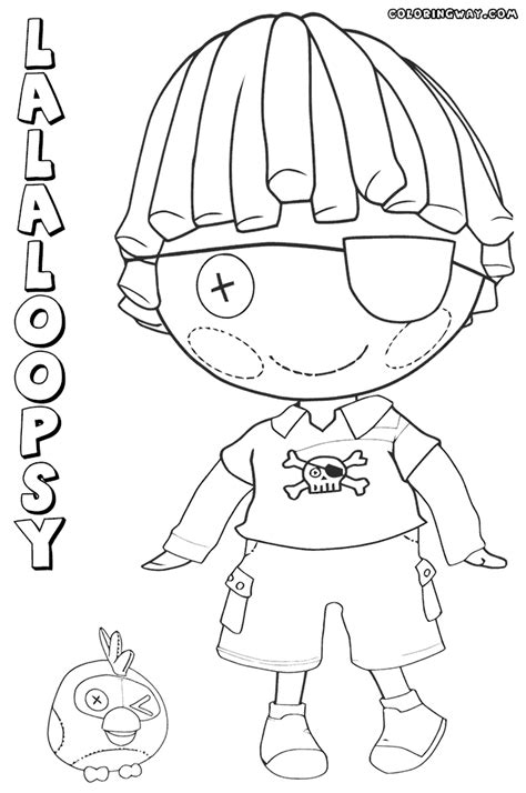boy doll coloring page lalaloopsy doll coloring pages coloring pages to