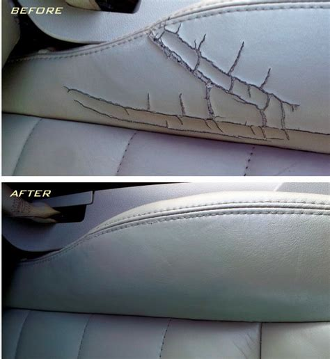 how to repair car upholstery leather car seat repair auto leather fabric repair