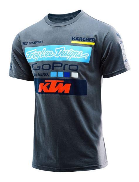 Ktm Checkered Shortsl Shirt S troy ktm team t shirt 20 5 60 revzilla