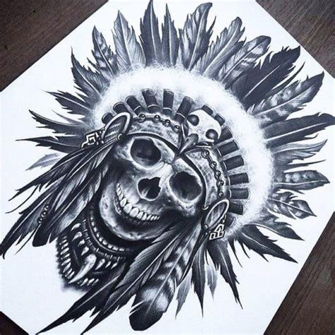 indian tattoos tumblr skull indian