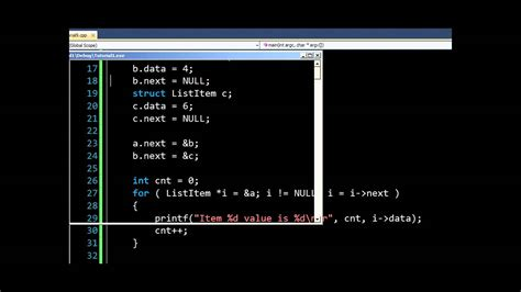 online tutorial computer programming lists and linked lists in c computer programming 10