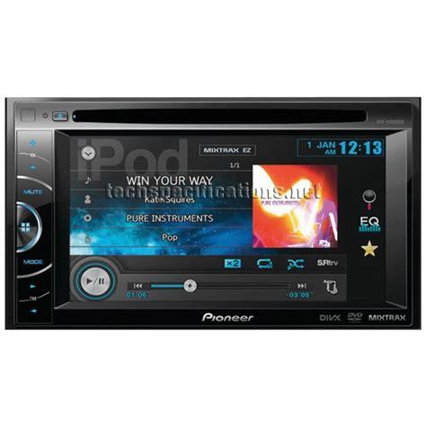format video pioneer avh technical specifications of pioneer avh x1500dvd car