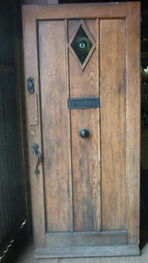 Craftsman Style Doors For Sale For Sale 1930 S English Oak Front Doors For Sale