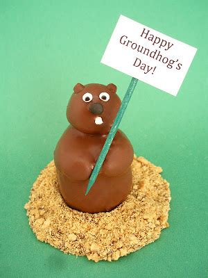groundhog day keep the talent happy happy groundhog s day a simple snowman pop tutorial to