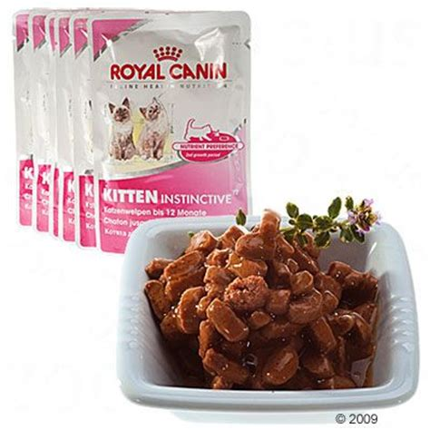 royal canin kitten royal canin kitten instinctief in saus zooplus nl