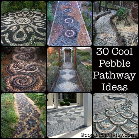 pebble garden ideas 30 cool pebble pathway ideas for your garden