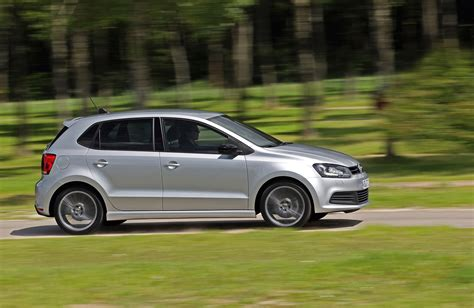 volkswagen silver 2013 silver 4dr vw polo blue gt side view eurocar news